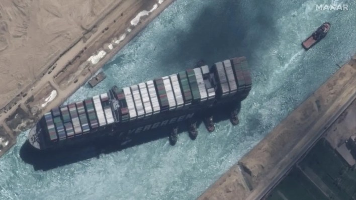 Egypt court postpones Suez ship hearing for more compensation talks   Al Arabiya English