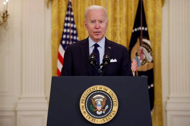 US President Joe Biden speaks at the White House, May 7, 2021. (File photo: Reuters)