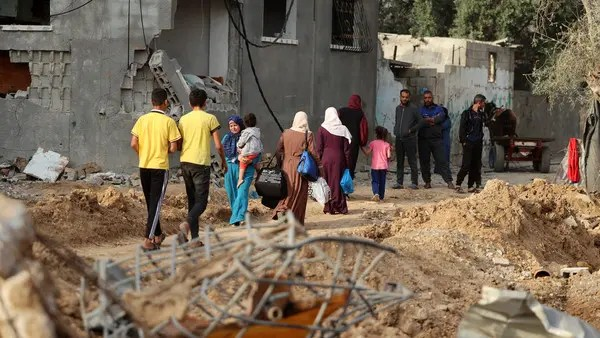 Five bodies, about ten survivors rescued in Gaza tunnel: Officials