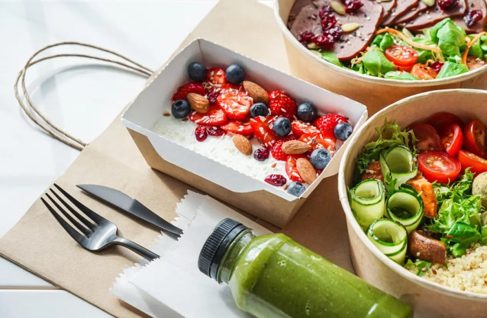 وجبة غداء  صحية