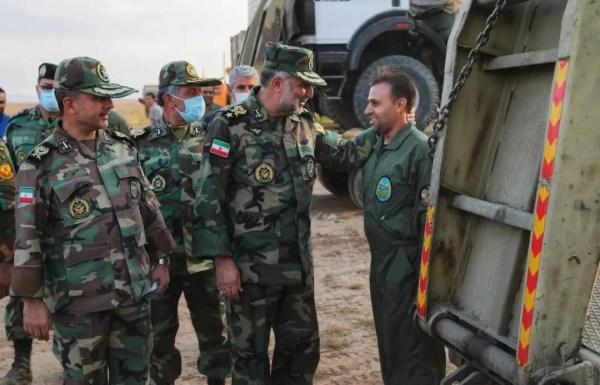 وسط تصاعد التوتر ، تدريبات عسكرية إيرانية قرب أذربيجان
