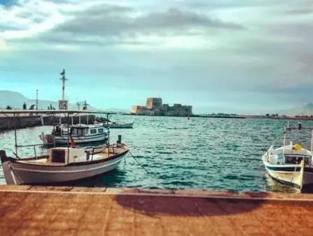 Nafplio Greece Bourtzi