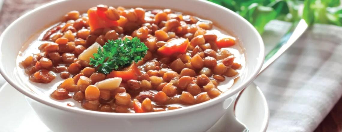 Lentejas con verduras – Receta verde de invierno