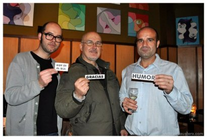 Pablo Perez Minguez,Luis Landeira y Guillermo Lopez
