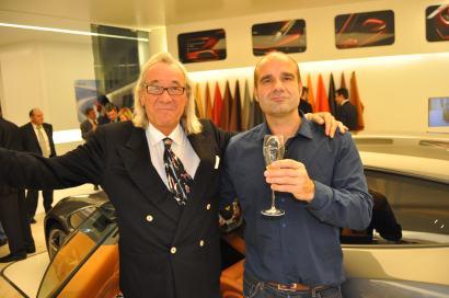 Guillermo López en Ferrari Privée