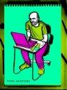 Pop version Guillermo at work by Dibujo a domicilio