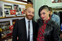 Sonia Giordiani con Farran de Mora