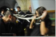 dangerous horns in backstage
