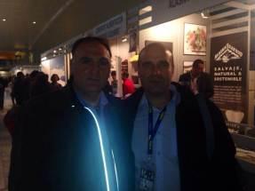 el cocinero Jose Andres y Guillermo Lopez