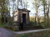 Vidaaustera Mausoleum Hofgarten Denkmal Coburg coburgo baviera