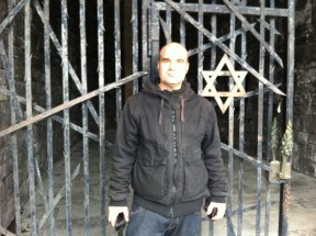 Vidaaustera estrella judia Judenstern Dachau Arbeit macht frei Trabajo libra