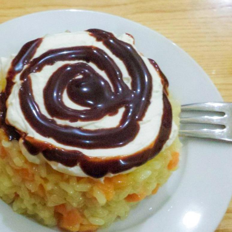 Receitas Orientais - Mango sticked Rice
