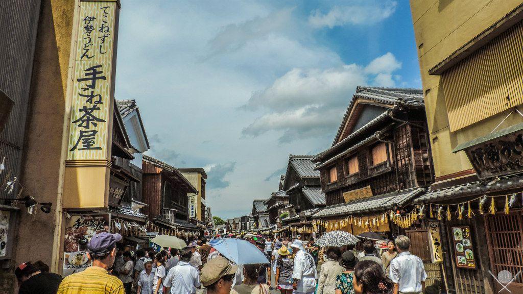 Japão Ise Oharaimachi