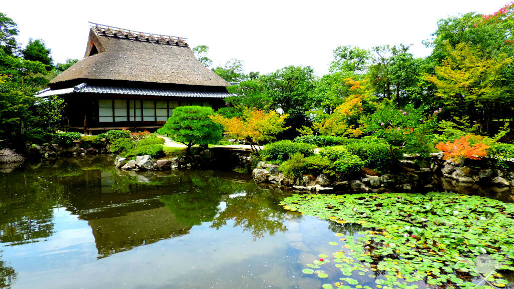Nara Isuien Garden front