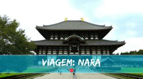 A primeira capital do Japão: conheça Nara!