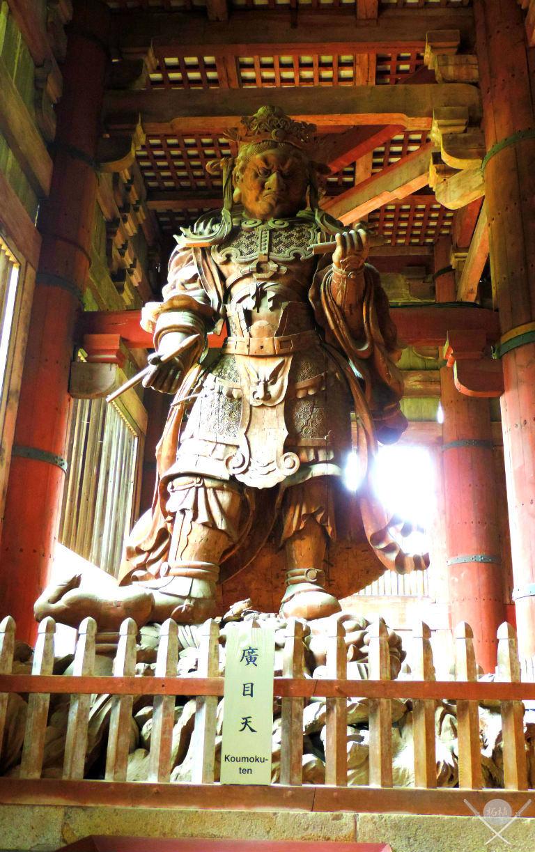 Guardião do Nara Todaiji Temple