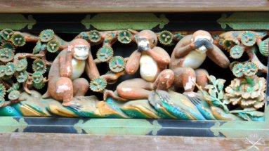 Nikko Toshogu 3 macacos