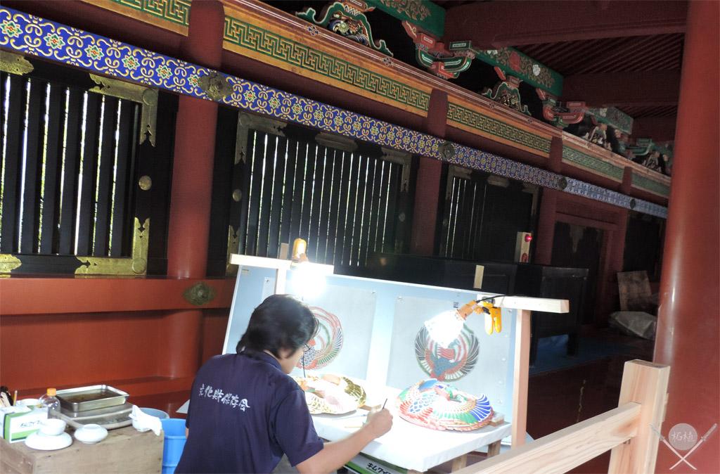 Nikko Toshogu reforma