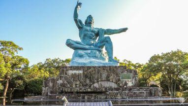 Nagasaki Peace Park escultura do Brasil