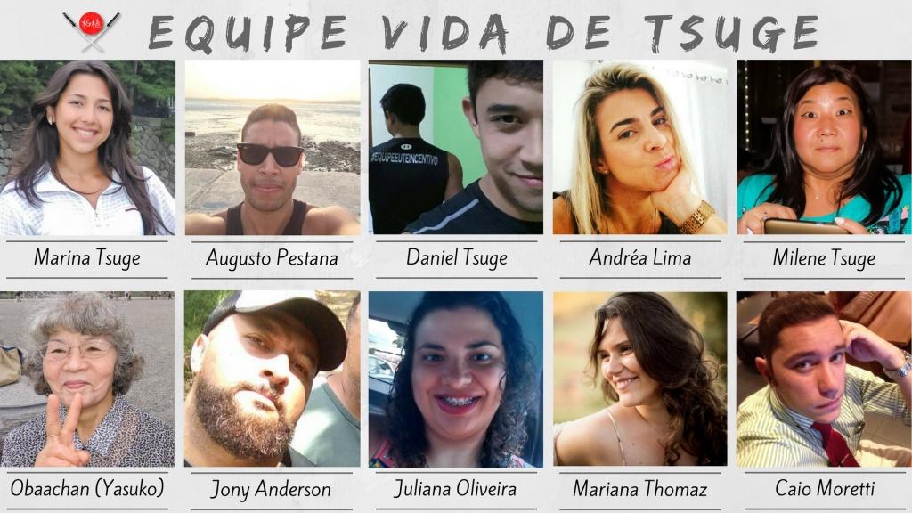 Viver de blog - equipe vida de tsuge