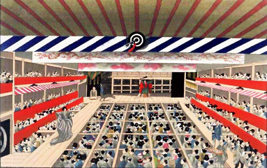 kabuki - teatro encenação