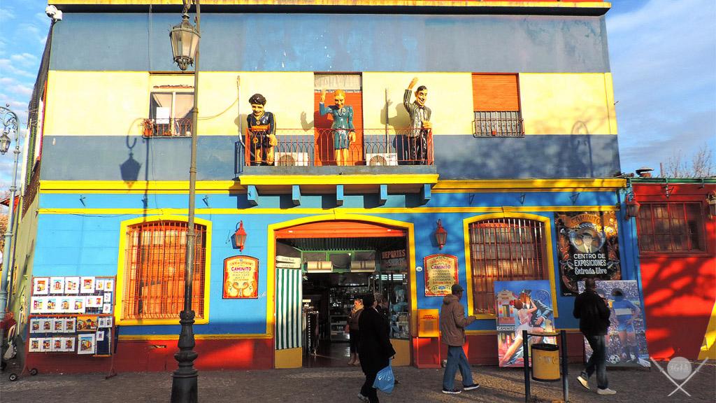 Buenos Aires - Calle caminito