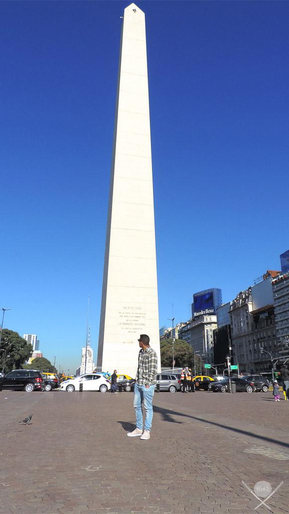 Buenos Aires - Obelisco Augusto