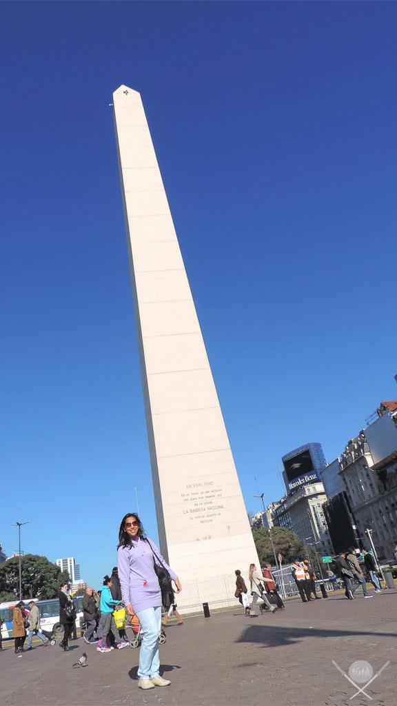 Buenos Aires - Obelisco Tsuge