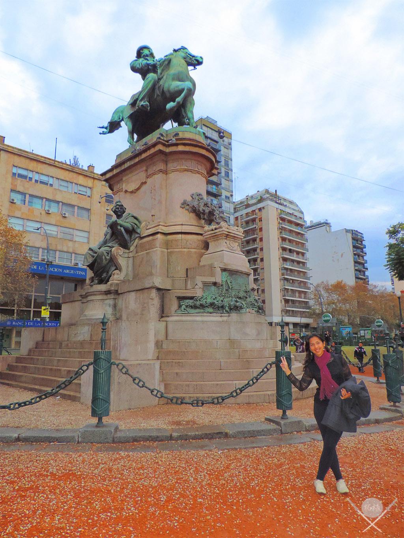 Buenos Aires - Plaza Italia - Tsuge