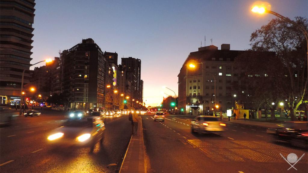Buenos Aires - Rua noite