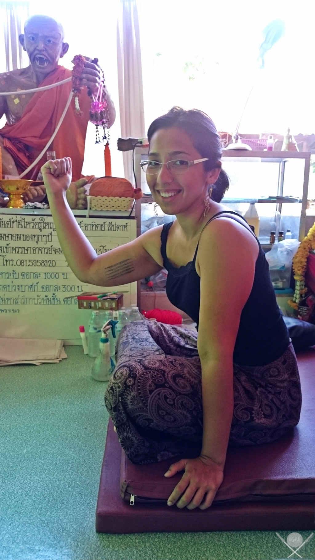 Thailand - Chiang Mai - Tattoo 1 - Viagens - Vida de Tsuge - VDT