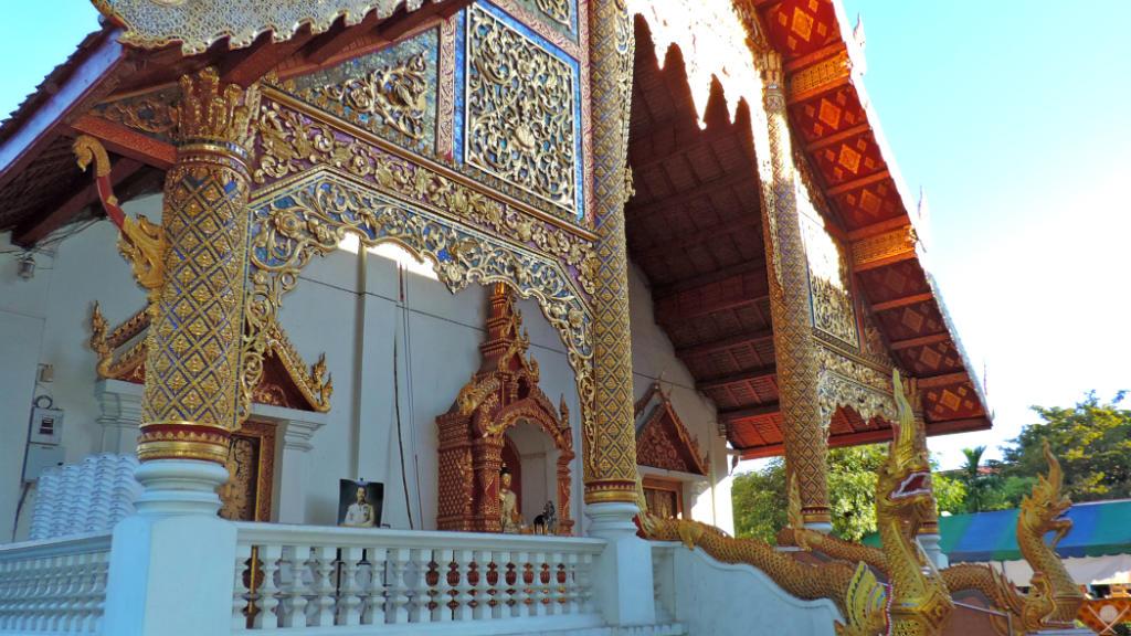Thailand - Chiang Mai - Wat Phra Singh 1 - Viagens - Vida de Tsuge - VDT