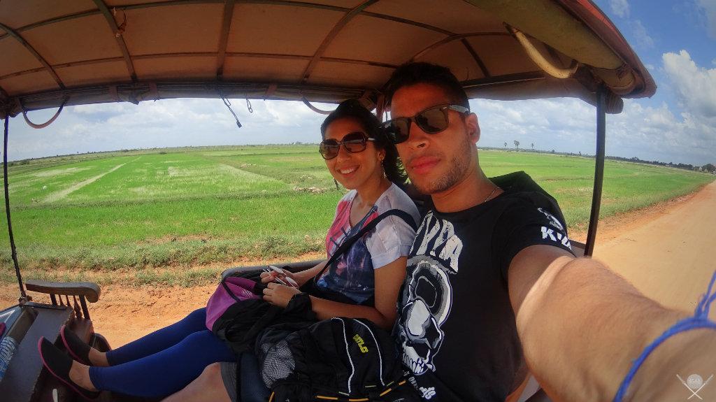 Camboja - Arrozal Camboja 1 - Viagem - Vida de Tsuge - VDT