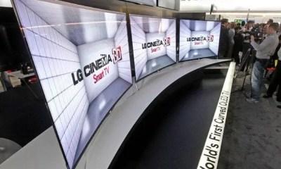 LG introdujo su OLED Curvo en CES 2013
