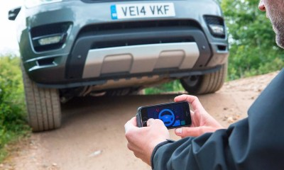 Control Autónomo Land Rover Sport vía Smartphone