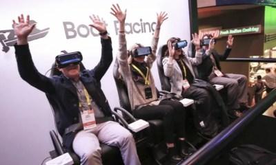 Experiencia Samsung VR CES 2017