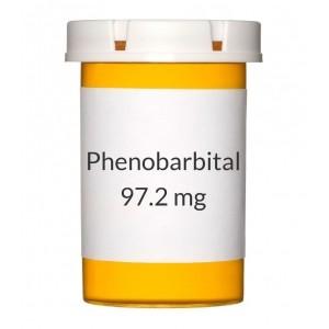 Buy Phenobarbital 97.2mg Tablets
