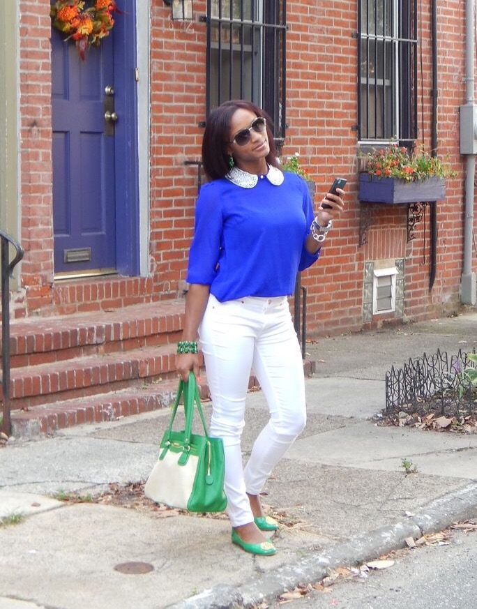 Spring Staple White Jeans