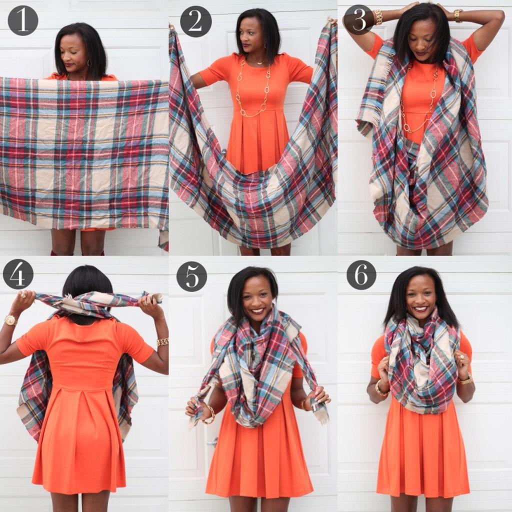 Blanket Scarf Tutorial2