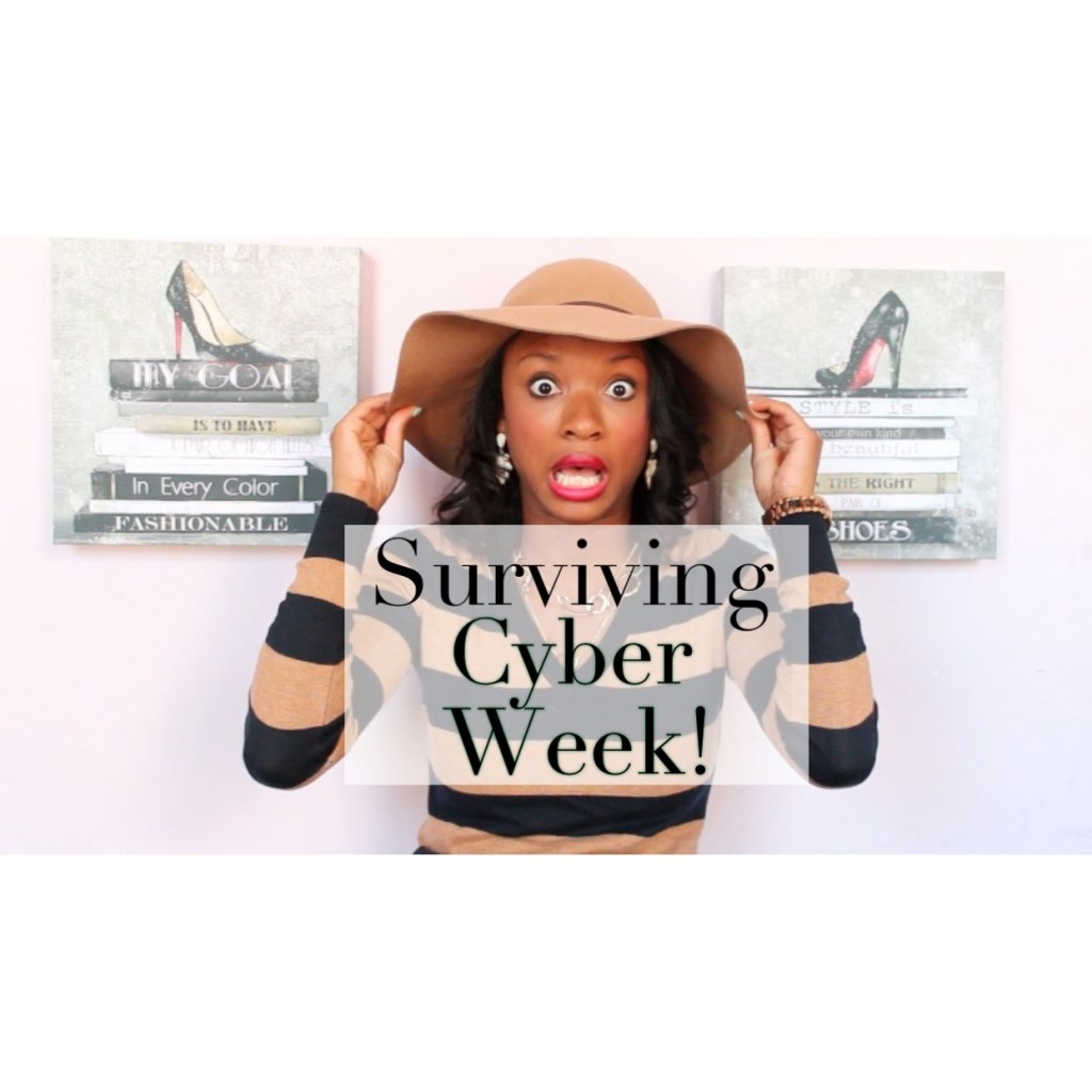 Surviving Cyber Week