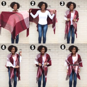 Another Blanket Scarf Tutorial