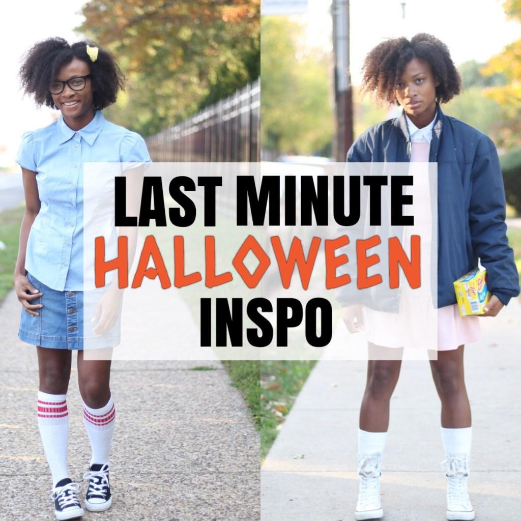 Last Minute Halloween Inspo