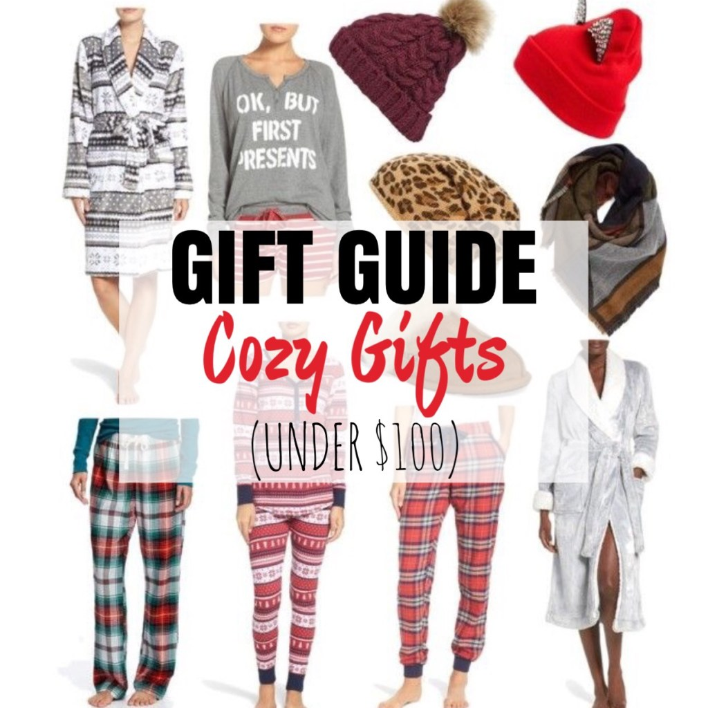 Gift Guide: Cozy Gifts
