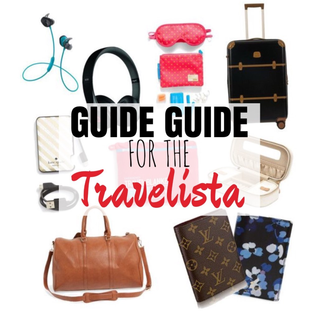 Gift Guide: For the Travelista