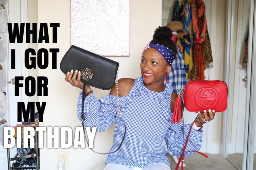Video: Birthday Haul – What I Got For My Birthday!