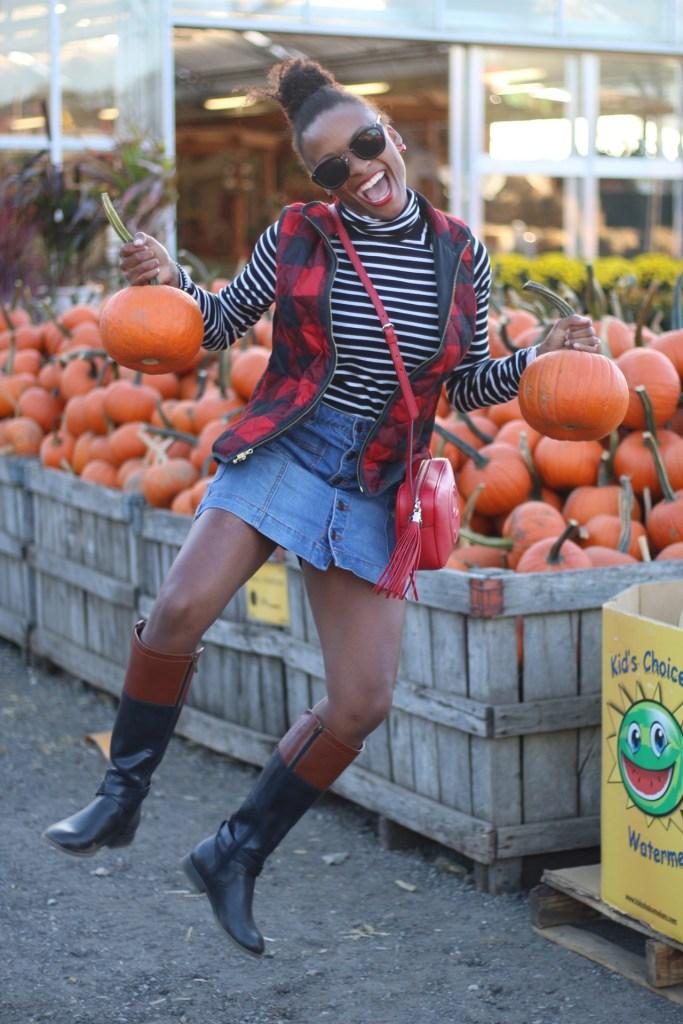Pumpkin Picking: What I Wore