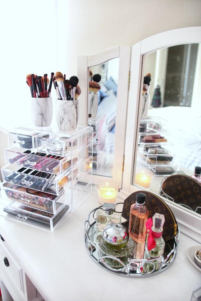 How I Store Makeup