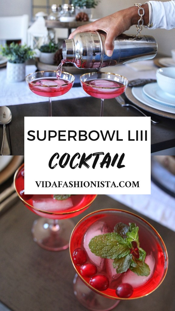 Super Bowl LIII Cocktail