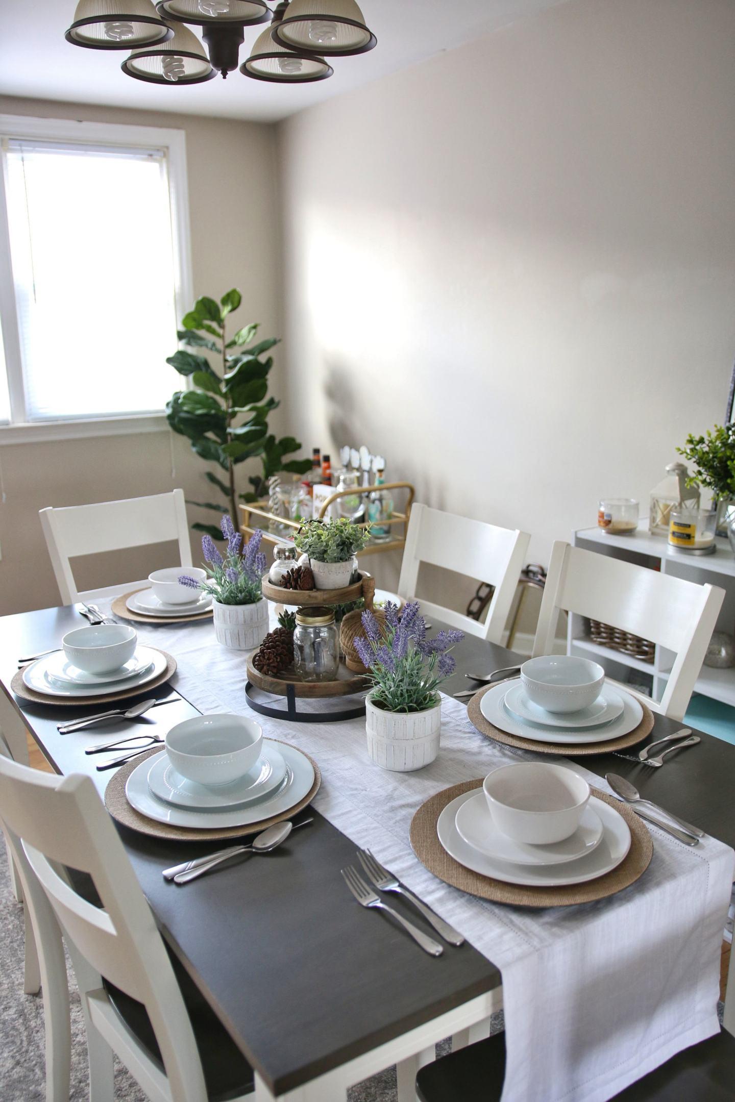 Dining Room Spring Refresh