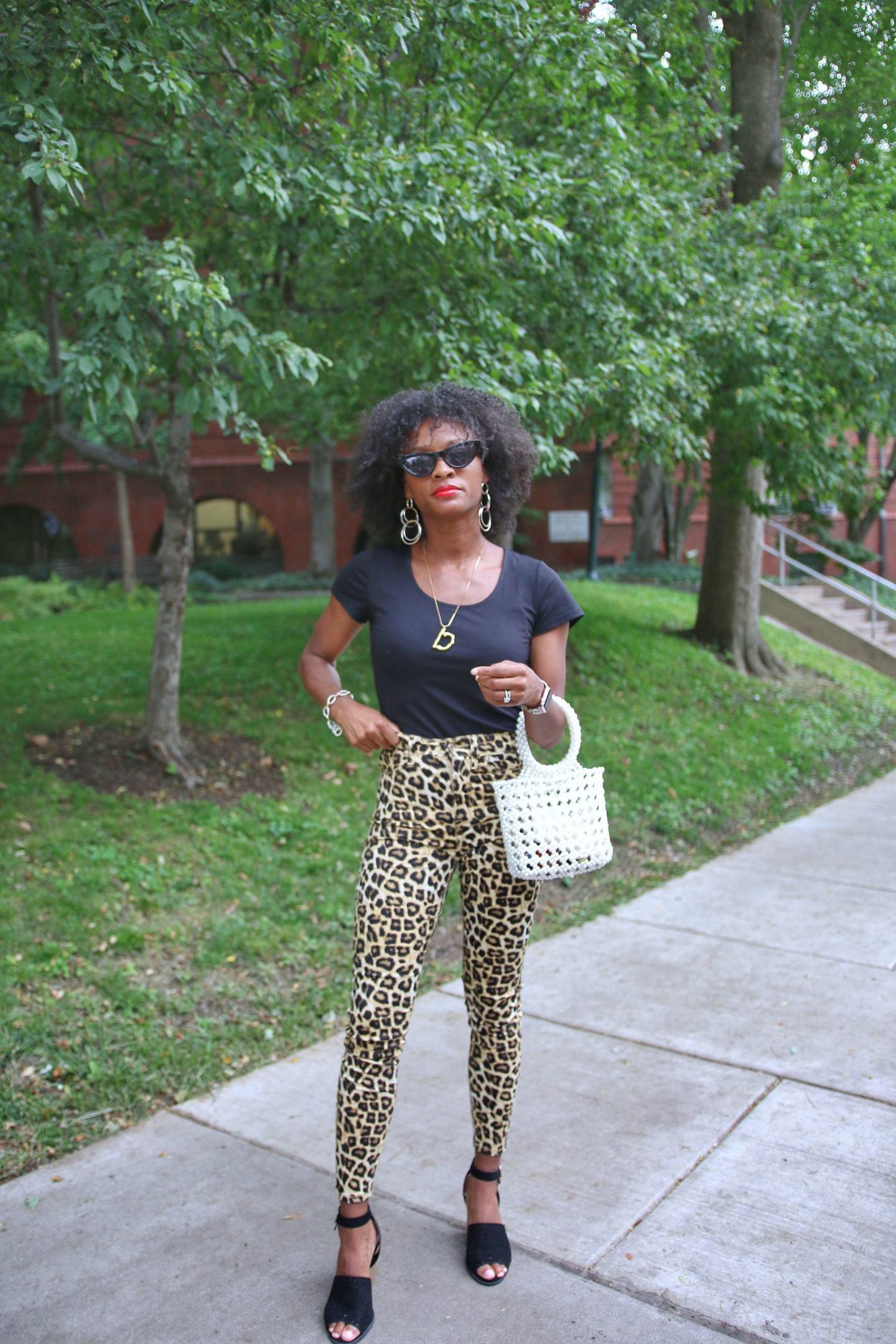 Cheetah Print Pants